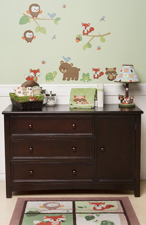 Wall Decals For Nursery Decorating Carter S Forest Friends