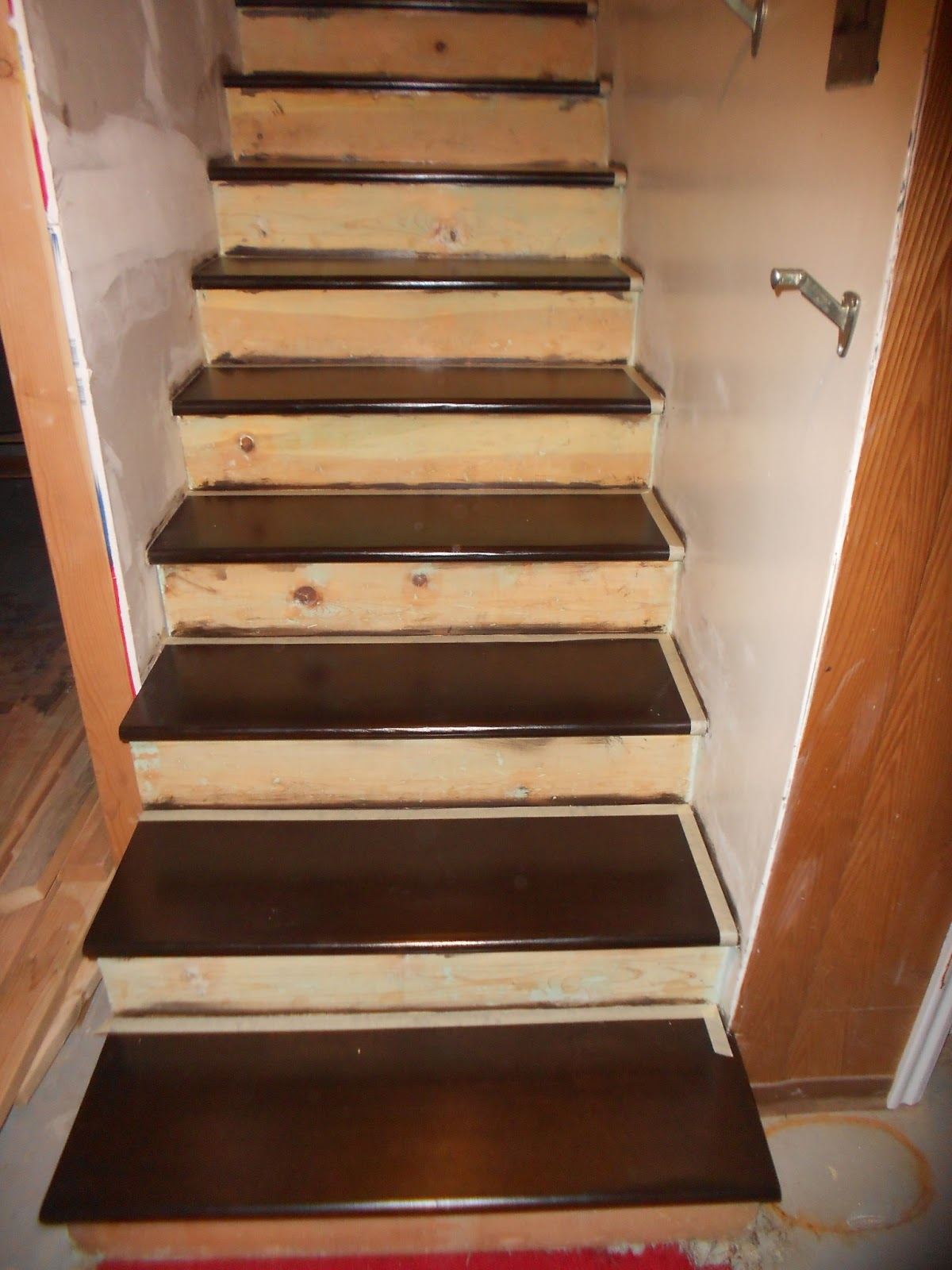 Painting Stairs Part 5