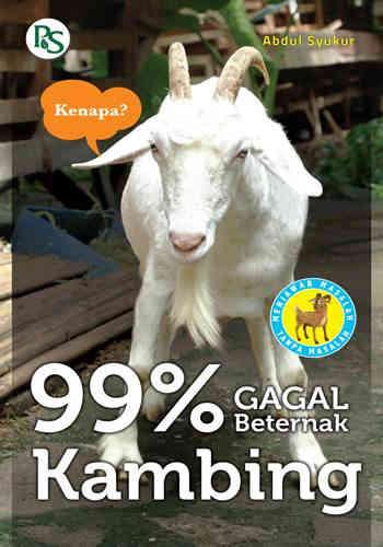 Buku Peternakan : 99% Gagal Beternak Kambing