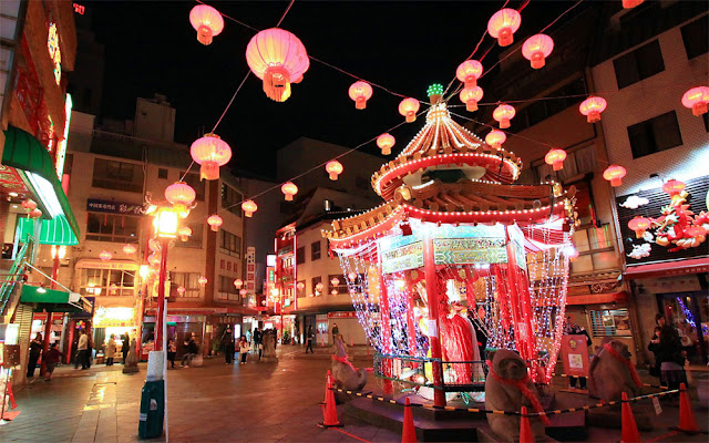 Chinese New Year Festival at Nankin-machi, Kobe, Hyogo