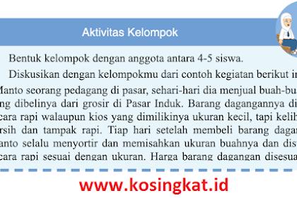 Kunci Jawaban IPS Kelas 7 Halaman 144 Aktivitas Kelompok