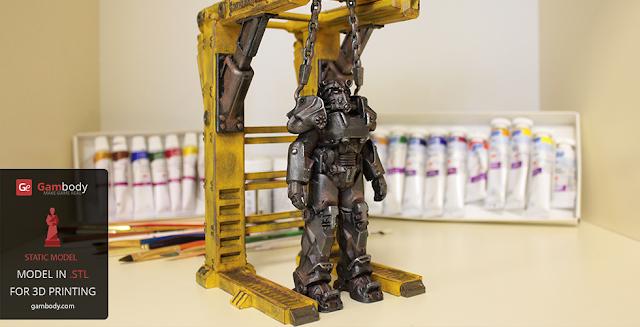 3D Models by Lambert Designer - t-60 power armor