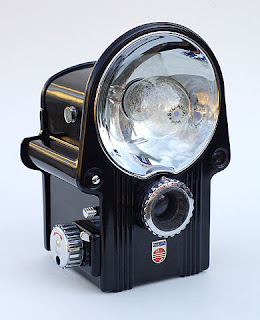 an old-fashioned camera