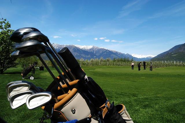 dove giocare a golf merano golf club lana