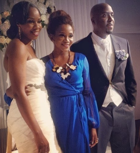 genevieve nnaji vanessa wedding london