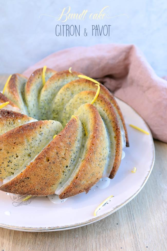 recette citron pavot