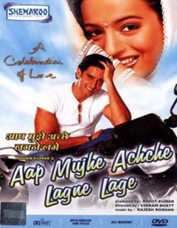 Poster of Aap Mujhe Achche Lagne Lage 2002 Hindi 720p DVDRip Full Movie Download