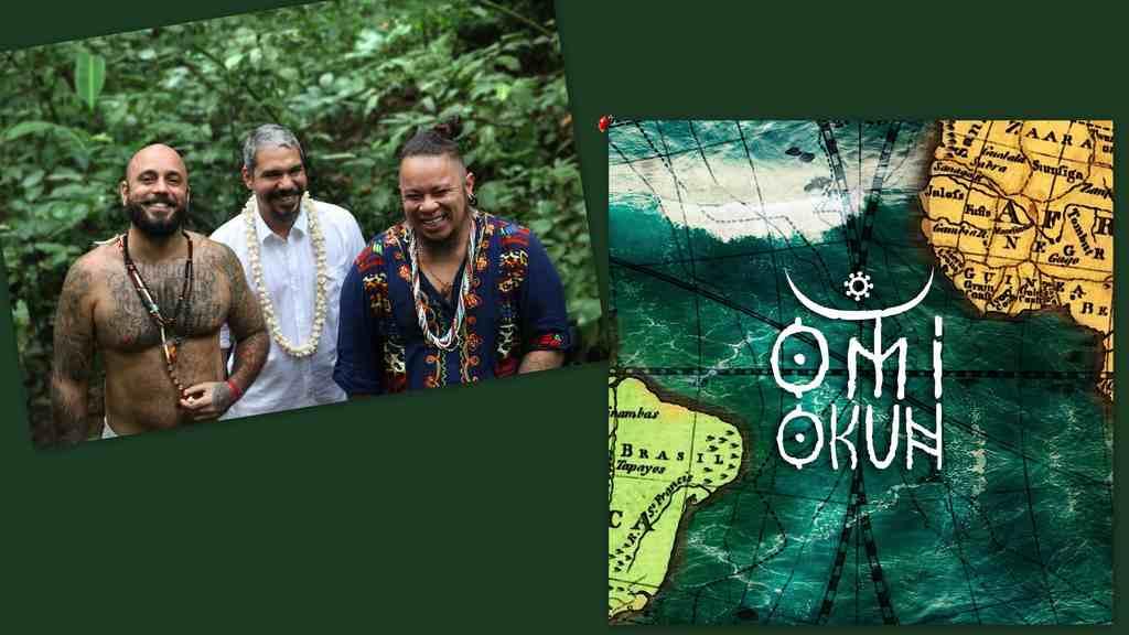 O santo e o profano se encontram no som de Omi Okun, trio carioca fortemente influenciado pelos sons afro-religiosos