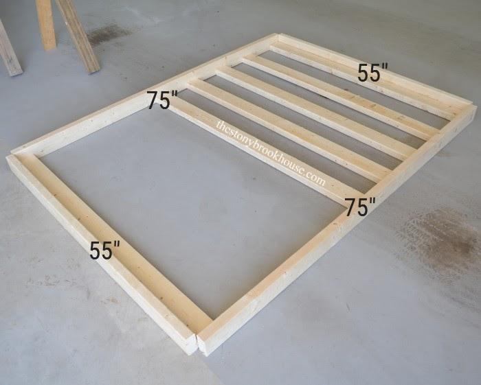 Measurements of Bed frame