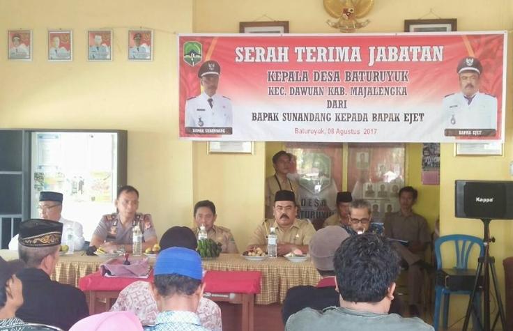 Contoh Berita Acara Serah Terima Jabatan Kepala Desa