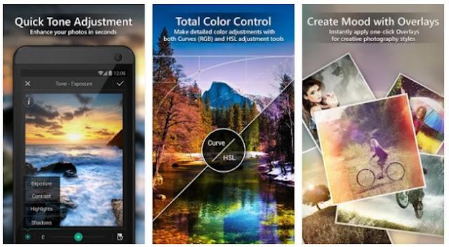 تطبيق للتصوير الإحترافي وتعديل وتحسين ومعالجة الصور PhotoDirector Photo Editor App