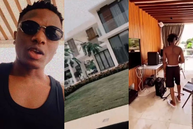 Check Out Photos Of Wizkid's Multimillion Dollar Riverside House In Ghana