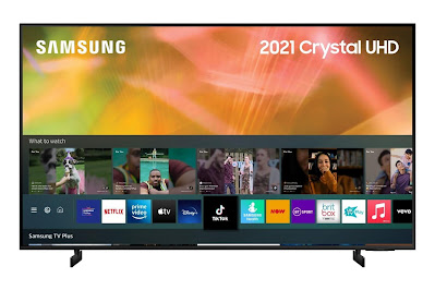 2021 AU8000 Crystal UHD 4K HDR Smart TV