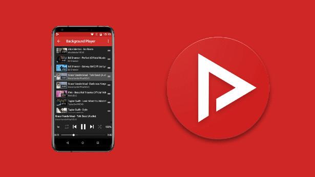 YouTube στο background κατέβασμα τραγουδιών