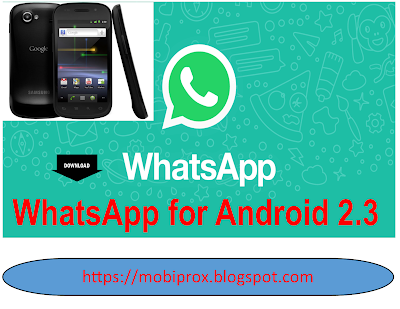 WHATSAPP FOR ANDROID 2.3