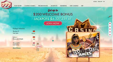 Casino en línea | 777 casino | 77 Giros GRATUITOS - No se necesita depósito