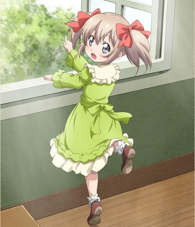 Nuevo póster del anime Uchi no Musume no Tame Naraba