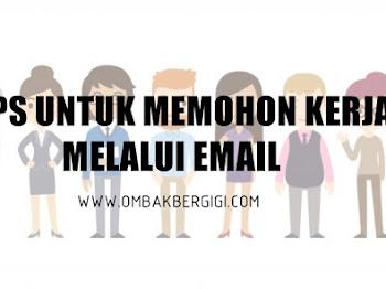 Tips Untuk Memohon Kerja Melalui Email
