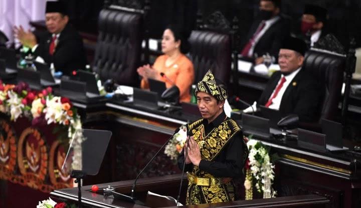 Tak Disinggung Sedikit Pun oleh Jokowi, Ibu Kota Tak Jadi Pindah?