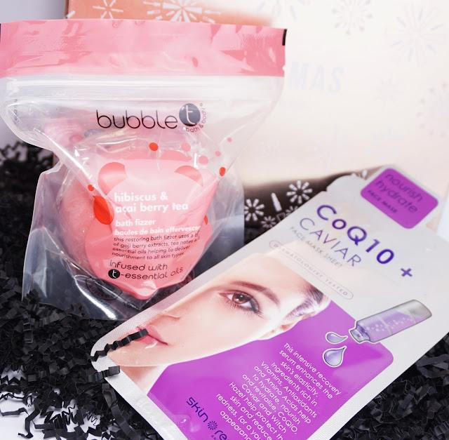 LookFantastic - Beauty Box (LFXMAS - Dezember 2016) bubble t, Skin Republic
