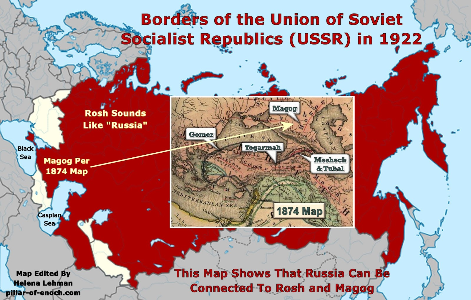 Pillar of Enoch Ministry Blog WHY RUSSIA IS MAGOG AND PUTIN MAY