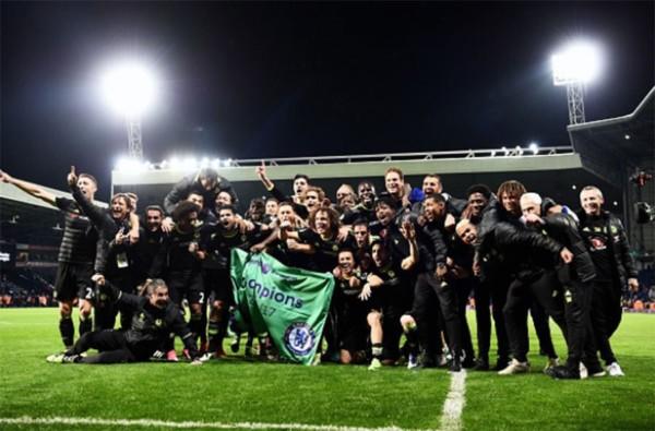 Chelsea Crowned English Premier League Champions!