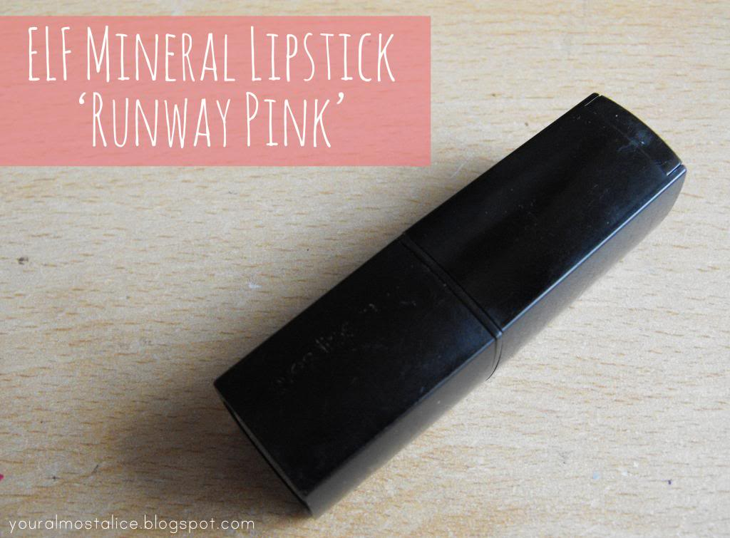 Rediscovered | ELF Mineral Lipstick in Runway Pink