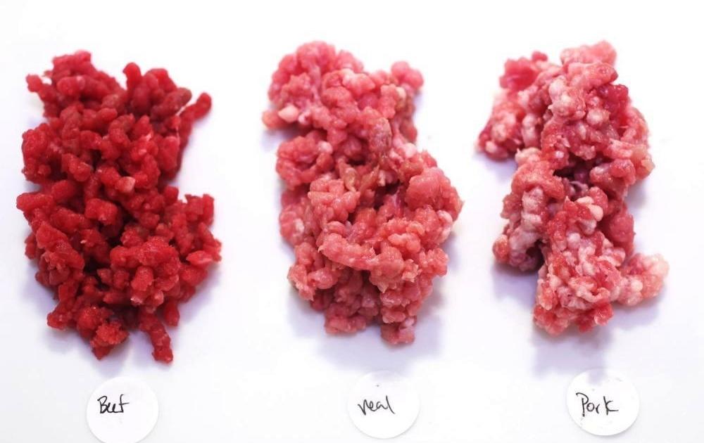 Perbedaan Tekstur Daging Sapi, Ayam, dan Babi (seriouseats.com)