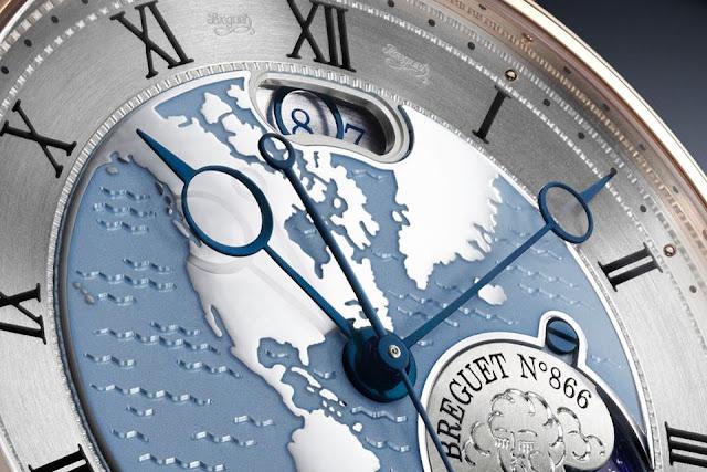Breguet Classique Hora Mundi- NGƯỜI DỊCH CHUYỂN