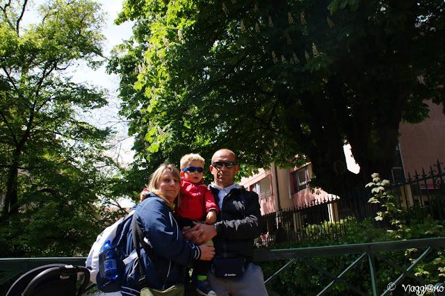 Noi tre di ViaggiamoHG ad Annecy