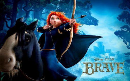 Công Chúa Tóc Xù - Brave (2012