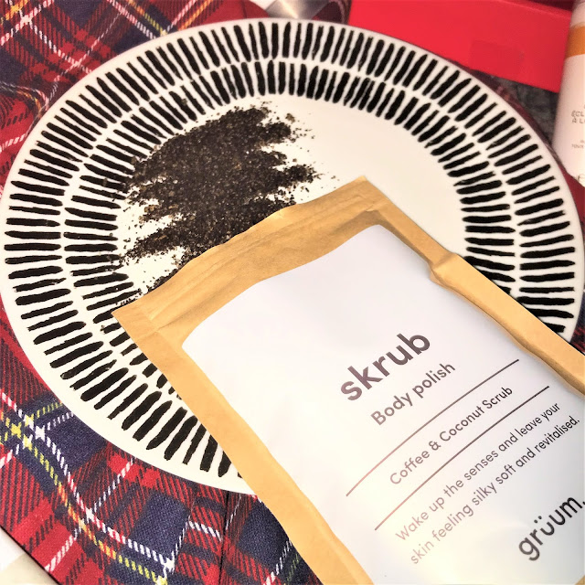 Grüum Coffee & Coconut Body Polish Scrub