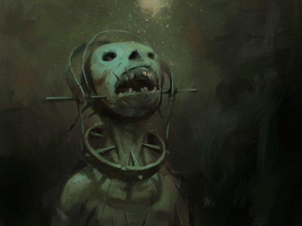 Ligeti Miklós artstation deviantart arte ilustrações fantasia sombria terror