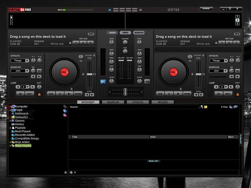 Download Dj Mixer Work 2048 X 2048 Wallpapers: FREE DOWNLOAD / PC + MacOSX: Atomix Virtual DJ Pro 7.4