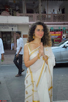 Kangana Ranaut in Saree ~  Exclusive Pics 001.jpg