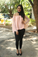 Rakul Preet Singh in lovely Pink Crop Top and Black Trousers at Jaya Janaki Nayaka success meet 060.JPG