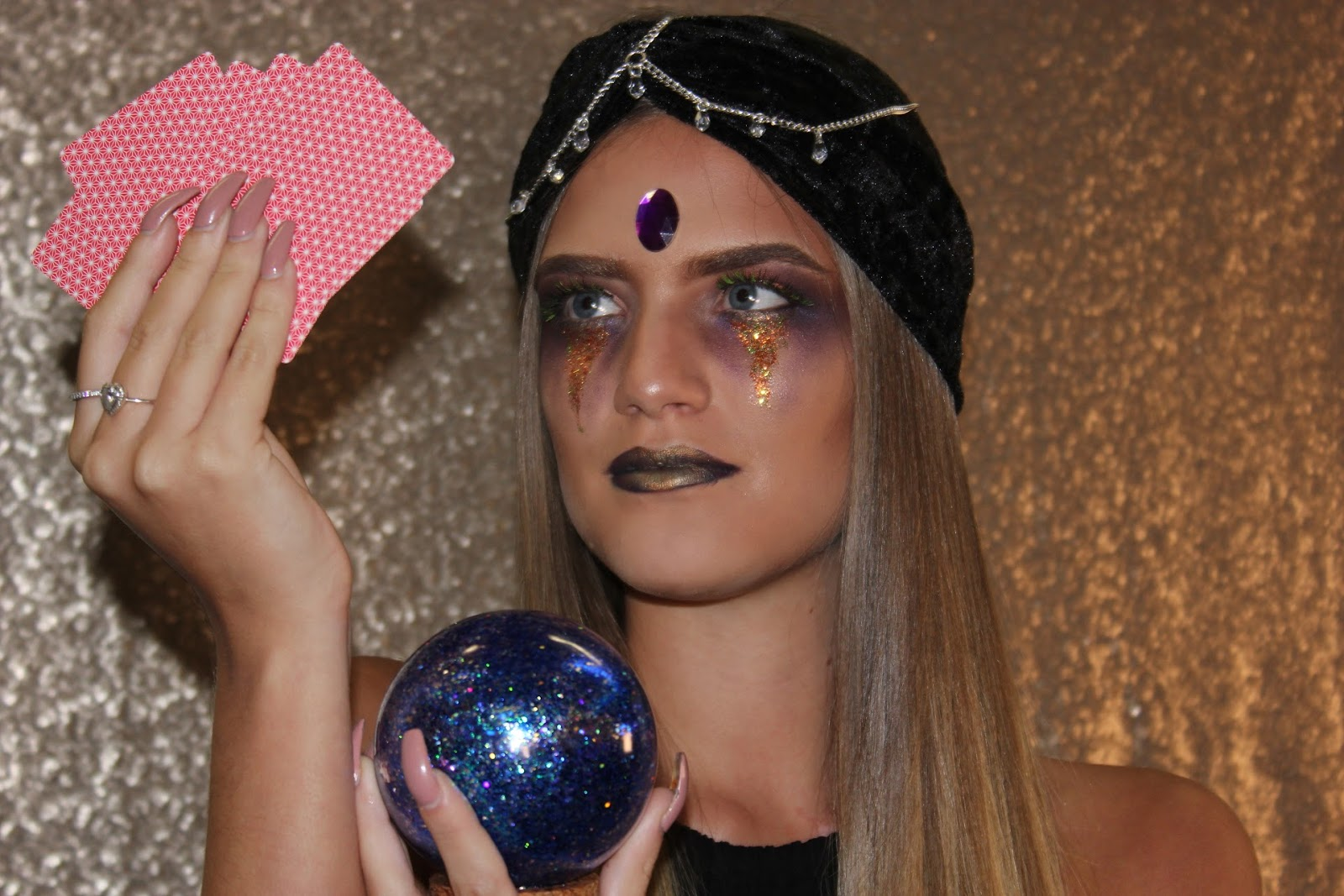 Halloween Fortune Teller Makeup.Halloween Fortune Teller Make Up Look Beauxoxo Handmade Hair