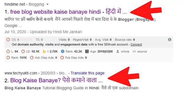 SEO क्या है और कैसे करते हैं - What is SEO kya hai in Hindi