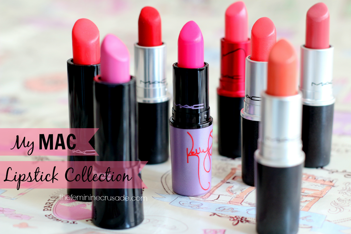My MAC Lipstick Collection