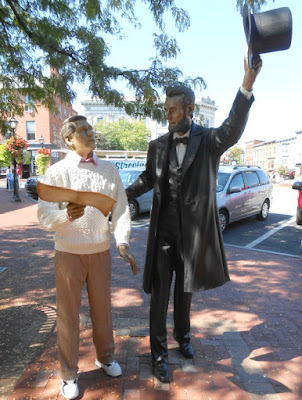 President Abe Lincoln Statue in Gettysburg
