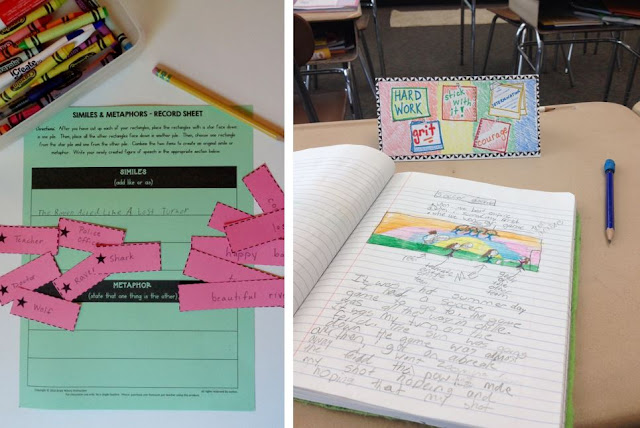 Add fun creative writing lessons to your middle school classroom!