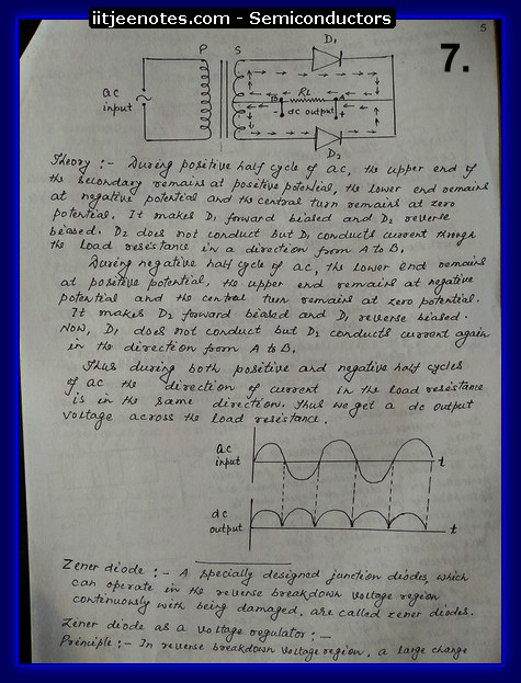 semiconductor handwritten notes