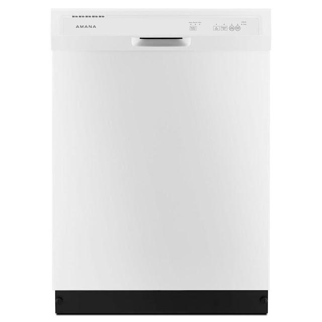 Amana Front Control Dishwasher in White Model #ADB1300AFW