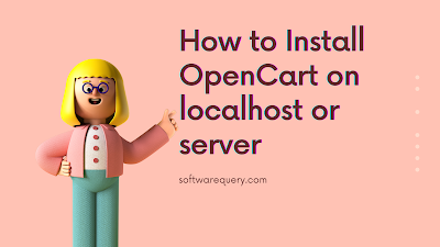 Install OpenCart on localhost
