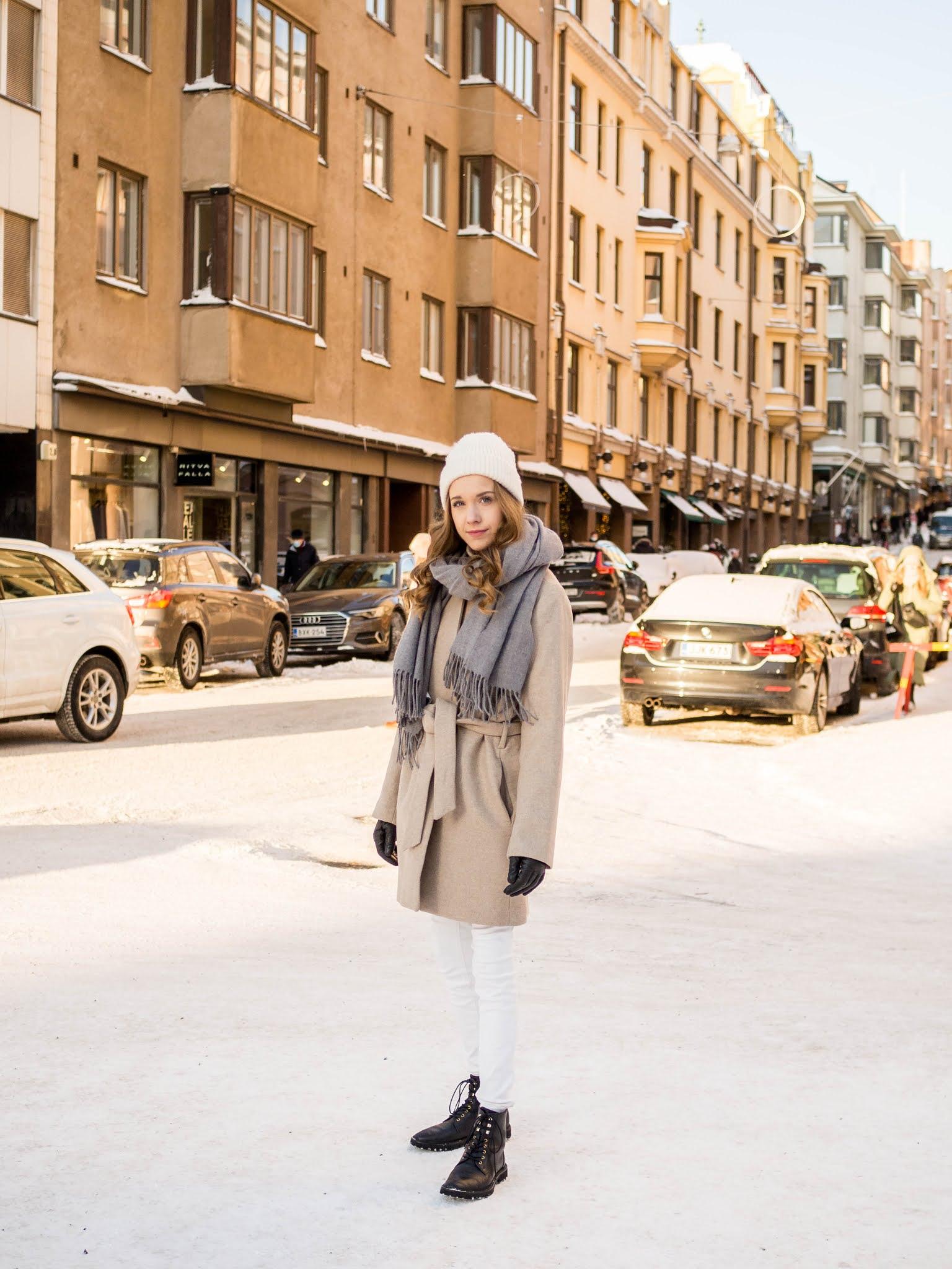 Vinkkejä tyylikkääseen kerrospukeutumiseen // Tips for stylish outfit layering in winter