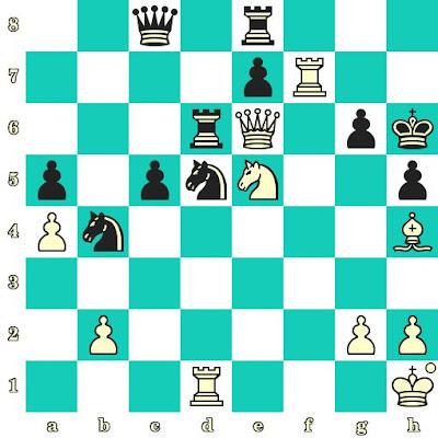 Les Blancs jouent et matent en 2 coups - Gregory Kaidanov vs Eric-Thierry Petit, Torcy, 1991