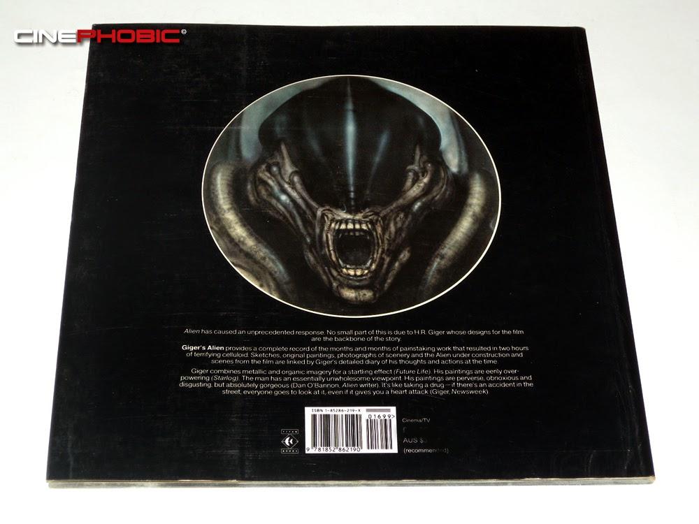 Cinephobic H R Giger S Alien Artbook