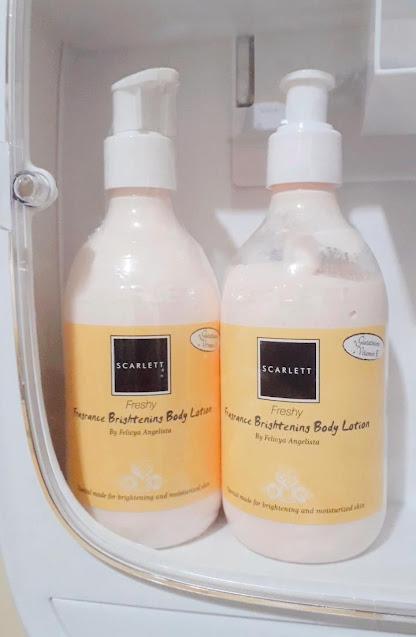 Scarlett Fragrance Brightening Body Lotion - Freshy