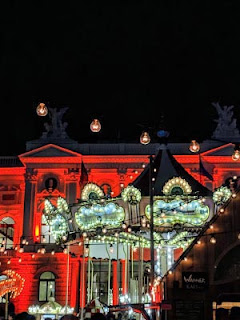 Things to do in Zurich in December: Visit the Opernhaus Christmas Market