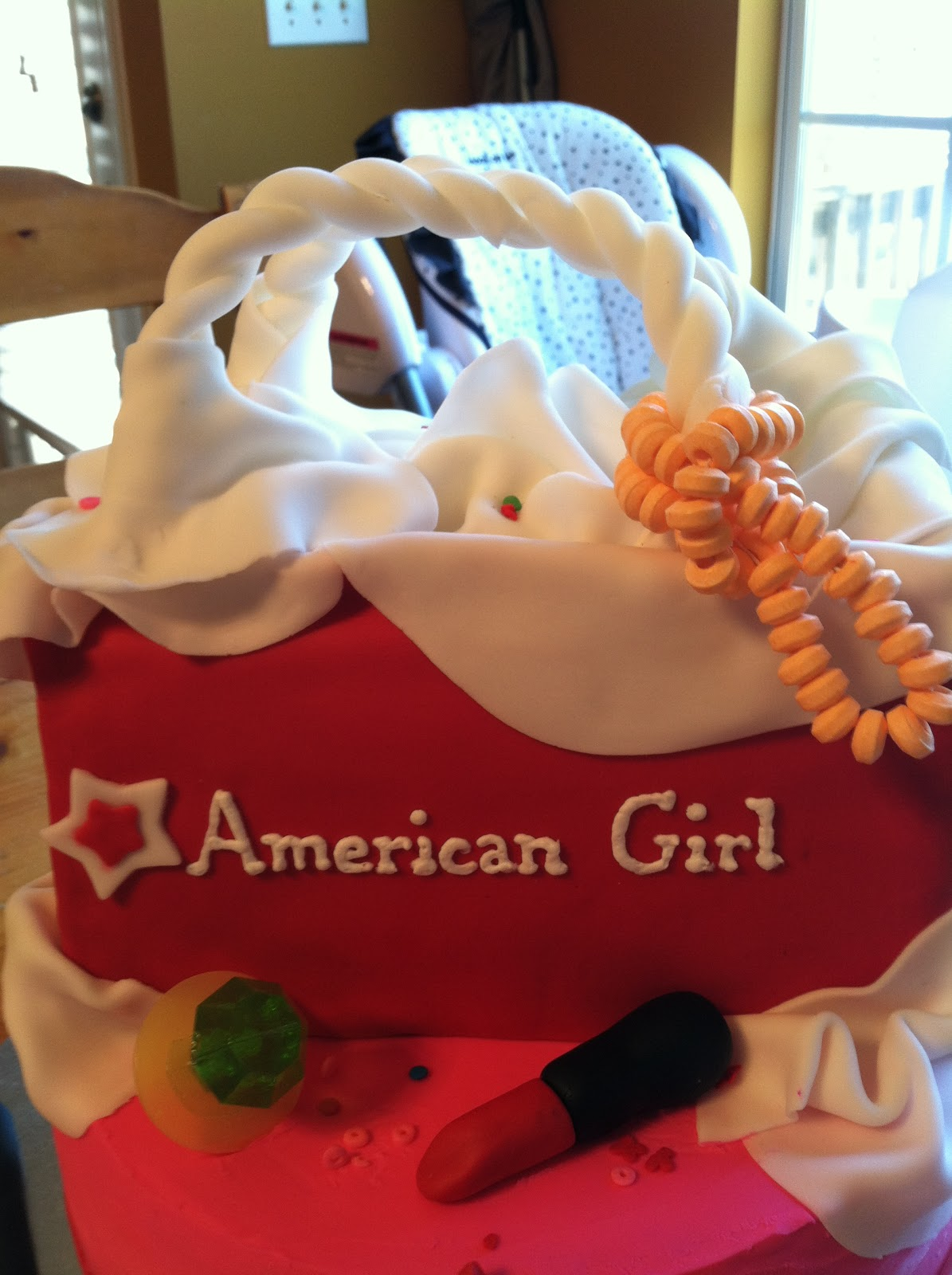 Introducing American Girl Cake For An American Girl